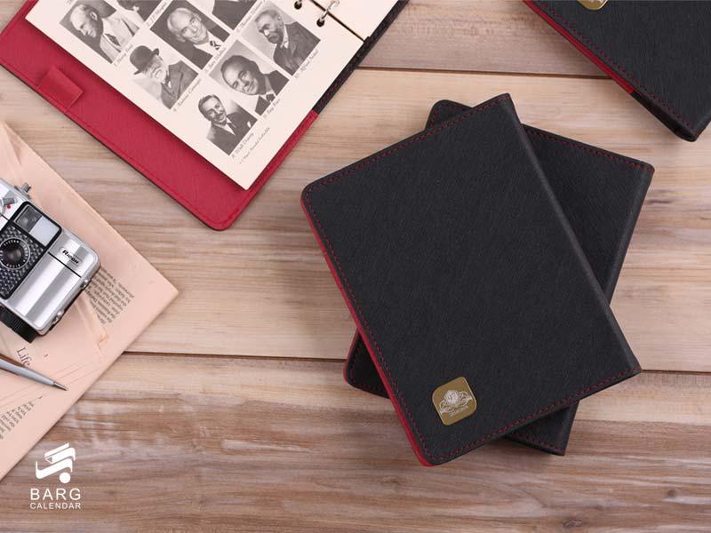 ست هدیه - ارگانایزر مدیران برتر - سررسید 98 واحد سالنامه برگ