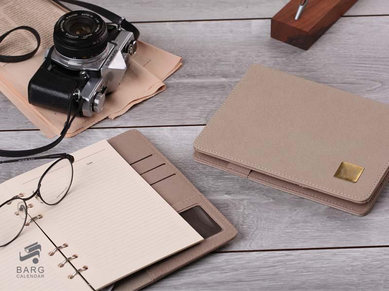 دفتر یادداشت مدیران برتر - سررسید 98 واحد سالنامه برگ