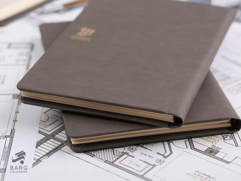 سررسید اروپایی دستیار مهندسی رسام - سررسید 97 واحد سالنامه برگ