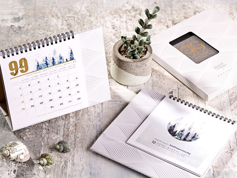 تقویم رومیزی خشتی 99 کد 12 - 1