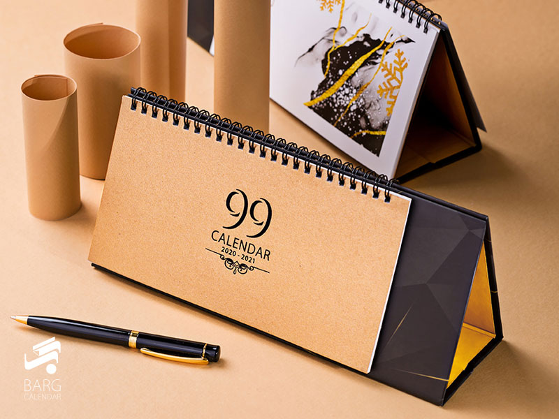 تقویم رومیزی مدرن 99 کد 11 - 1