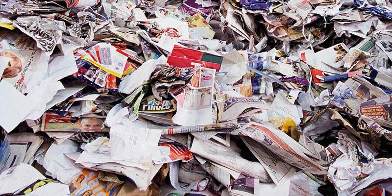 کاغذ بازیافتی چیست؟